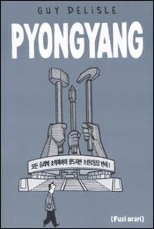 Pyongyang - Guy Delisle - copertina