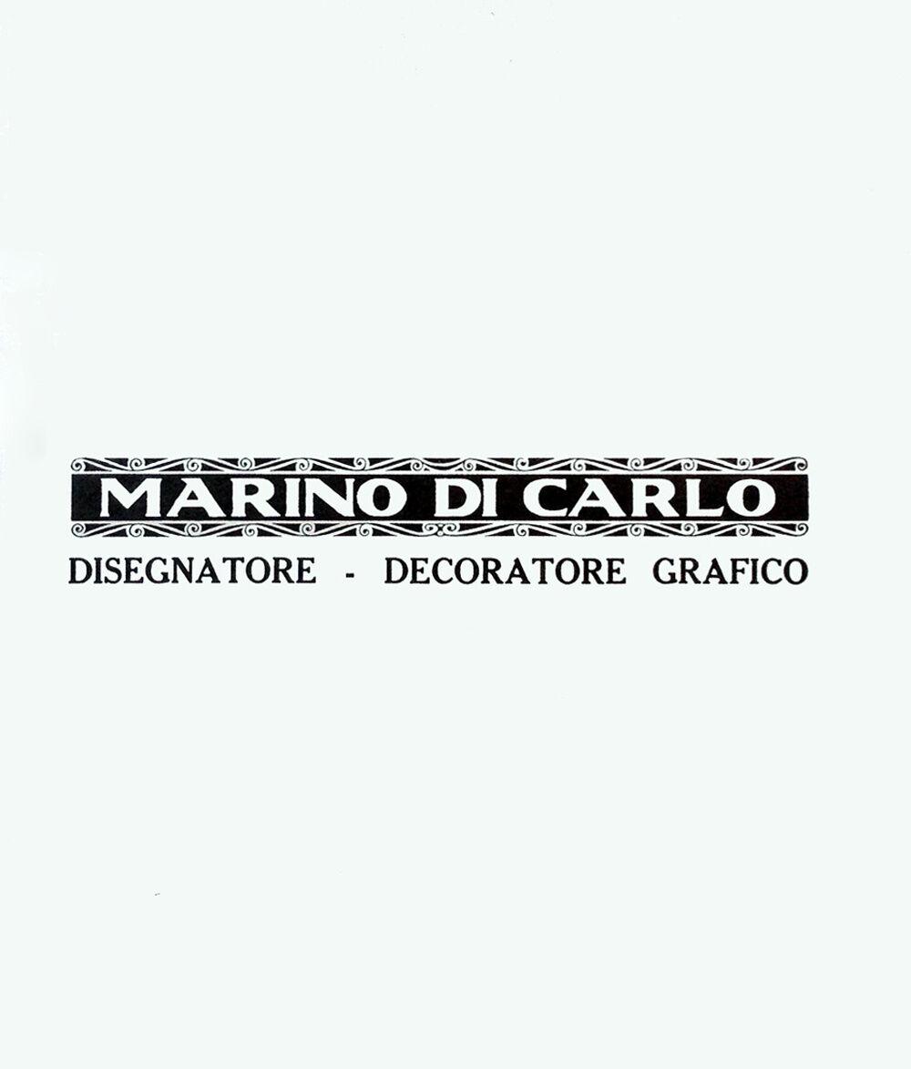 Marino Di Carlo. Disegnatore, decoratore grafico