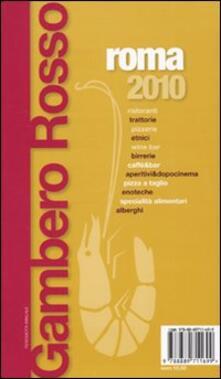Filippodegasperi.it Roma del Gambero Rosso 2010-Lazio. La guida per il turista curioso e goloso Image