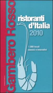 Daddyswing.es Ristoranti d'Italia del Gambero Rosso 2010 Image