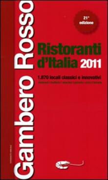 Aboutschuster.de Ristoranti d'Italia del Gambero Rosso 2011 Image