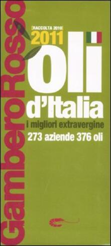 Parcoarenas.it Oli d'Italia 2011. I migliori extravergine. Raccolta 2010 Image