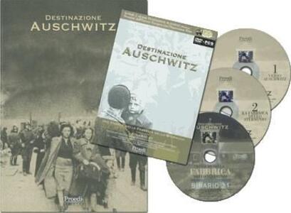 Destinazione Auschwitz. Con DVD. Con 2 CD-ROM