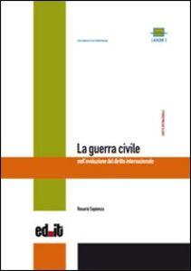 La guerra civile nell'evoluzione del diritto internazionale