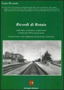 Squillogame.it Ricordi di rotaie nodi, linee, costruzioni e soppressioni in Italia dal 1839 ai giorni nostri Image