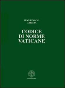 Writersfactory.it Codice di norme vaticane. Ordinamento giuridico dello Stato della Città del Vaticano Image