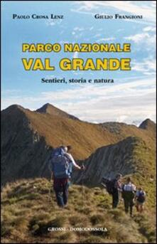 Winniearcher.com Parco nazionale Val Grande. Sentieri, storia e natura Image