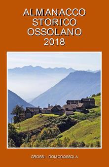 Tegliowinterrun.it Almanacco storico ossolano 2018 Image