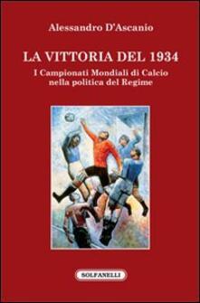 Capturtokyoedition.it La vittoria del 1934. I campionati mondiali di calcio nella politica del regime Image