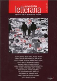 Nuova rivista letteraria (2010). Vol. 1: Il lavoro culturale. - copertina