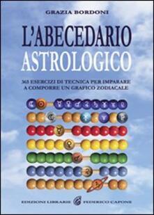 Antondemarirreguera.es L' abecedario astrologico. 365 esercizi per imparare a comporre un grafico zodiacale Image