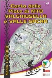 Carta delle piste di MTB Valchiusella Valle Sacra