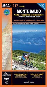 Monte Baldo. Carta topografica-escursionistica 1:25.000. Ediz. italiana, inglese e tedesca