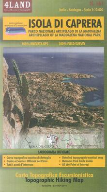 Steamcon.it Isola di Caprera. Parco Nazionale Arcipela di La Maddalena-Archipelago of La Maddalena National Park 1:10.000. Ediz. bilingue Image