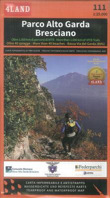 Voluntariadobaleares2014.es Parco Alto Garda bresciano. Carta escursionistica 1:25.000 Image