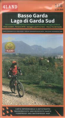Antondemarirreguera.es Basso Garda. Lago di Garda Sud. Carta escursionistica 1: 25.000 Image