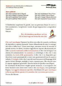 Che cos'è una lingua? Con CD Audio - Tullio De Mauro - 2