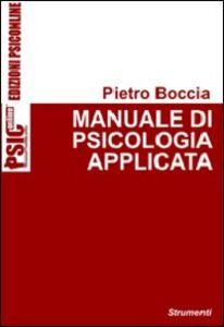 Manuale di psicologia applicata