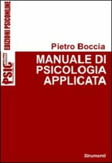 Listadelpopolo.it Manuale di psicologia applicata Image