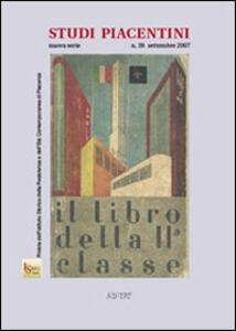 Studi piacentini. Vol. 38