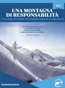 Una montagna di responsabilità - Flavio Saltarelli - copertina