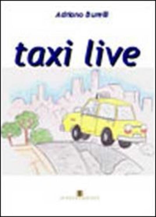 Taxi live - Adriano Burelli - copertina