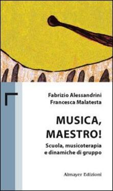 Musica maestro! Scuola, musicoterapia e dinamiche di gruppo - Fabrizio Alessandrini,Francesca Malatesta - copertina