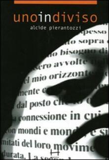 Uno in diviso - Alcide Pierantozzi - copertina
