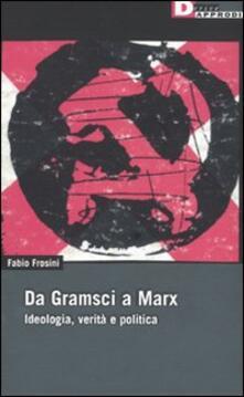 Antondemarirreguera.es Da Gramsci a Marx. Ideologia, verità, politica Image