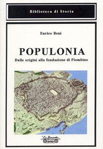 Populonia, dalle origini alla fondazione di Piombino