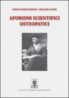 Nicocaradonna.it Aforismi scientifici osteopatici. Vol. 1 Image