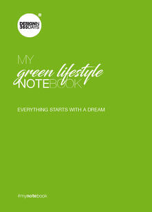 Promoartpalermo.it My green lifestyle notebook. Everything starts with a dream Image