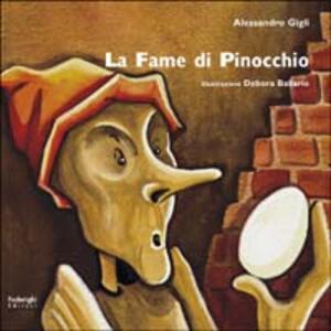 La fame di Pinocchio - Alessandro Gigli - copertina