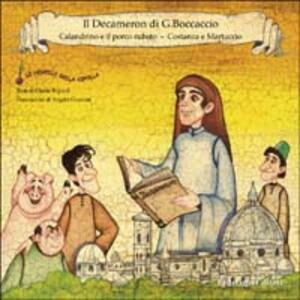 Calandrino e il porco rubato. Costanza e Martuccio - copertina