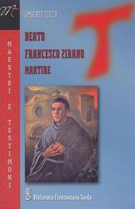 Beato Francesco Zirano martire - Umberto Zucca - copertina