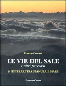 Le vie del sale. Nove itinerari tra pianura e mare - Fabrizio Capecchi - copertina