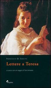 Lettere a Teresa - Francesco De Sanctis - copertina