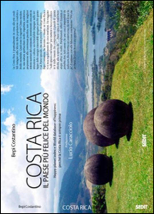 Costa Rica. Il paese più felice del mondo - Bepi Costantino - copertina