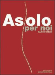Asolo per noi - Mario Consani - copertina