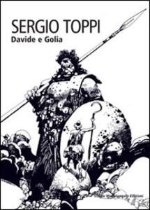 Davide e Golia - Sergio Toppi - copertina