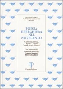 Radiospeed.it Poesia e preghiera nel '900. Clemente Rebora, Cristina Campo, David Maria Turoldo Image