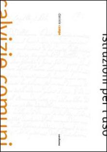 Calvizie comuni, istruzioni per l'uso - Daniele Campo - copertina