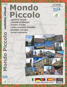 Mondo piccolo. Cartoline virtuali. Ediz. multilingue. CD-ROM - Francisco Cipolla Ficarra - copertina