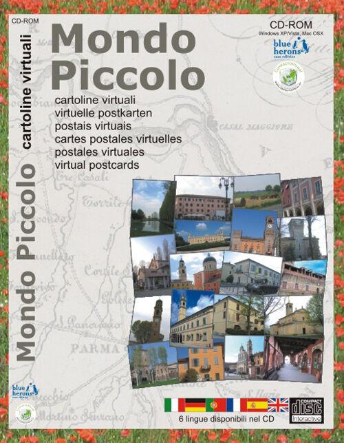 Mondo piccolo. Cartoline virtuali. Ediz. multilingue. CD-ROM