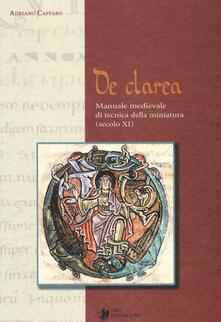Winniearcher.com De Clarea. Manuale medievale di tecnica della miniatura (secolo XI) Image