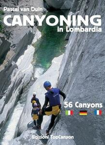 Canyoning in Lombardia. 56 canyons