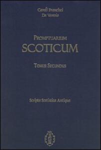 Promptuarium scoticum. Scripta scotistica antiqua. Vol. 2 - Francisci De Varesio Caroli - copertina