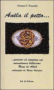 Anéla il petto - Roberto Piccardo Hamza - copertina