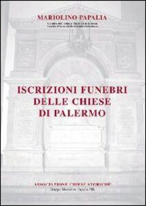 Iscrizioni funebri delle chiese di Palermo