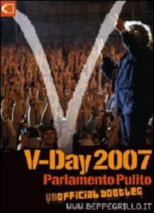 V-Day 2007. Con DVD - Beppe Grillo - copertina